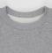 Свитшот мужской серый-меланж 240гр, тонкий - Уютный новогодний пес
