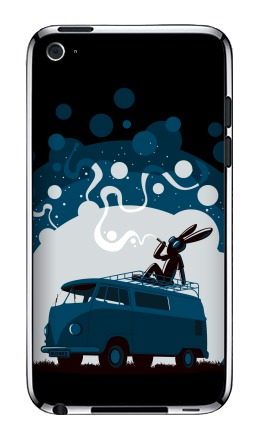 Наклейка на iPod Touch 4 - Night Scene '11