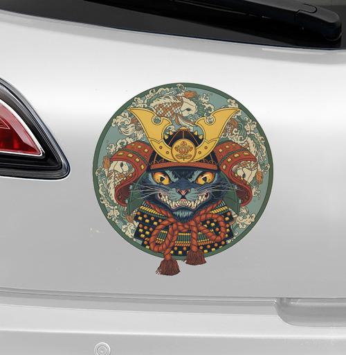 Самурай - наклейки на авто