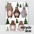 Чехол для iPad Mini Медведи
