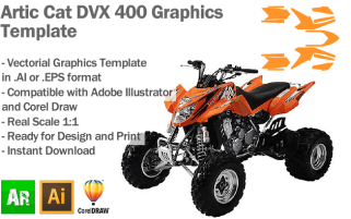 Cat DVX 400 ATV Quad