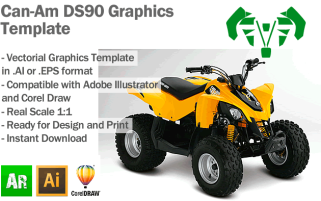 DS90 ATV Quad