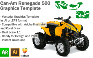 Renegade 500 ATV Quad