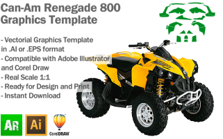 Renegade 800 ATV Quad