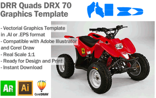 Quads DRX 70 ATV Quad