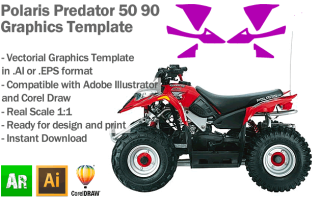 Predator 50 90 ATV Quad