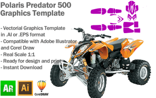 Predator 500 ATV Quad