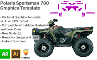 Sportsman 700 ATV Quad