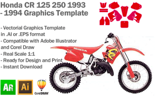 CR 125 250 MX Motocross 1993 1994