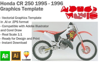 CR 250 MX Motocross 1995 1996