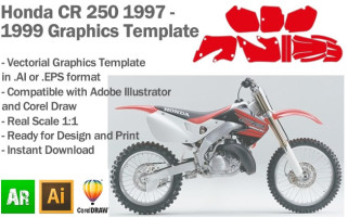 CR 250 MX Motocross 1997-1999