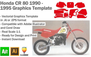 CR 80 MX Motocross 1990-1995