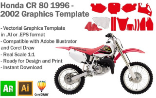 CR 80 MX Motocross 1996-2002