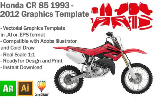 CR 85 MX Motocross 2003-2012