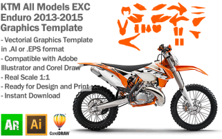 EXC XC XCF Enduro All Models 2014 2015