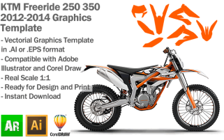 Freeride 250 350 Enduro 2012-2014