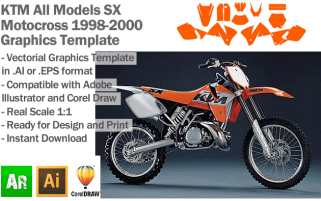 SX MX Motocross All Models 1998-2000