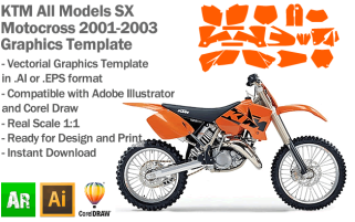 SX MX Motocross All Models 2001-2003