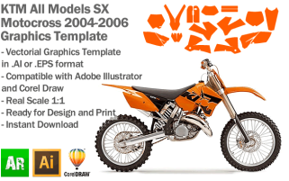 SX MX Motocross All Models 2004-2006