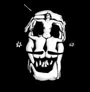 Dali Skull - футболки на заказ