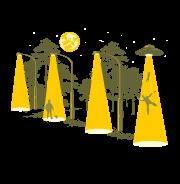 Вечерняя прогулка - футболки на заказ