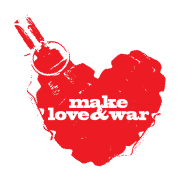 Make love&war - футболки на заказ