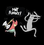 not funny  - футболки на заказ