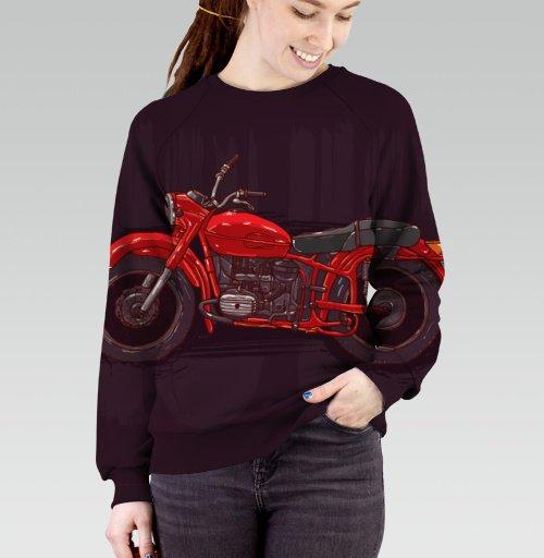 Фотография футболки Красный мотоцикл